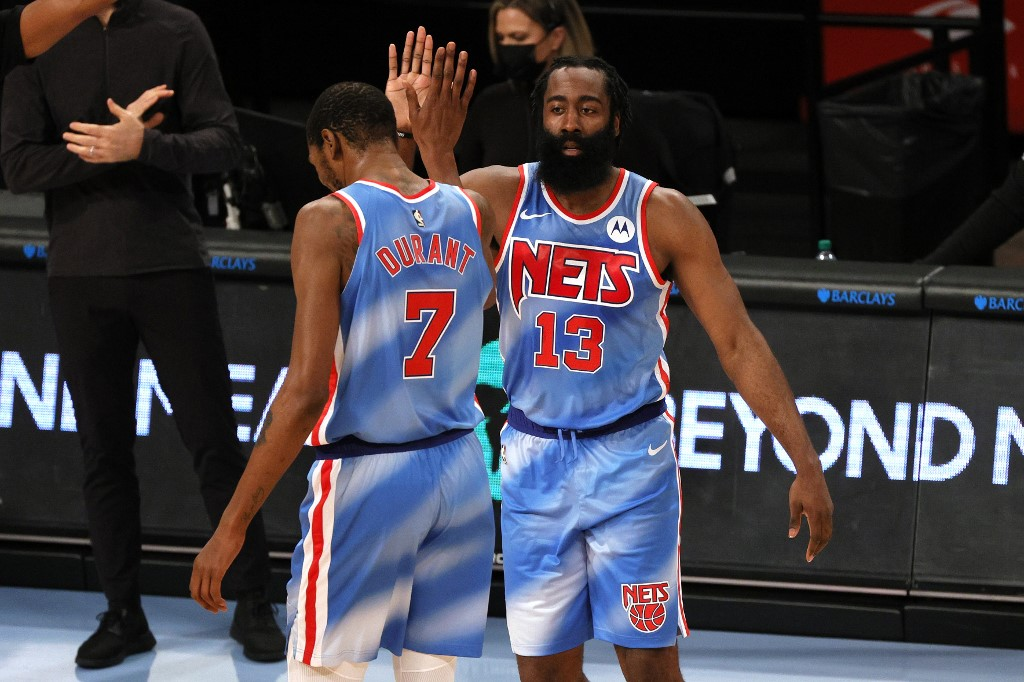 We're grown men now: James Harden comments on reuniting with former teammate Kevin Durant - THE SPORTS ROOM