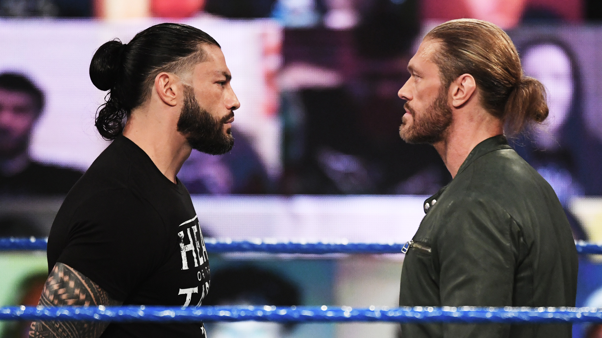 Edge chooses Roman Reigns as Wrestlemania opponent - THE SPORTS ROOM