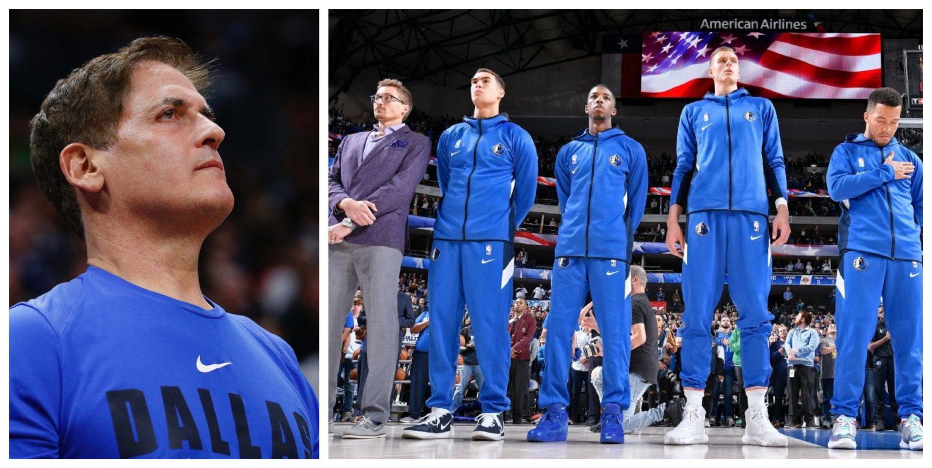 Dallas Mavericks owner Mark Cuban directs the team to ditch the national anthem - THE SPORTS ROOM