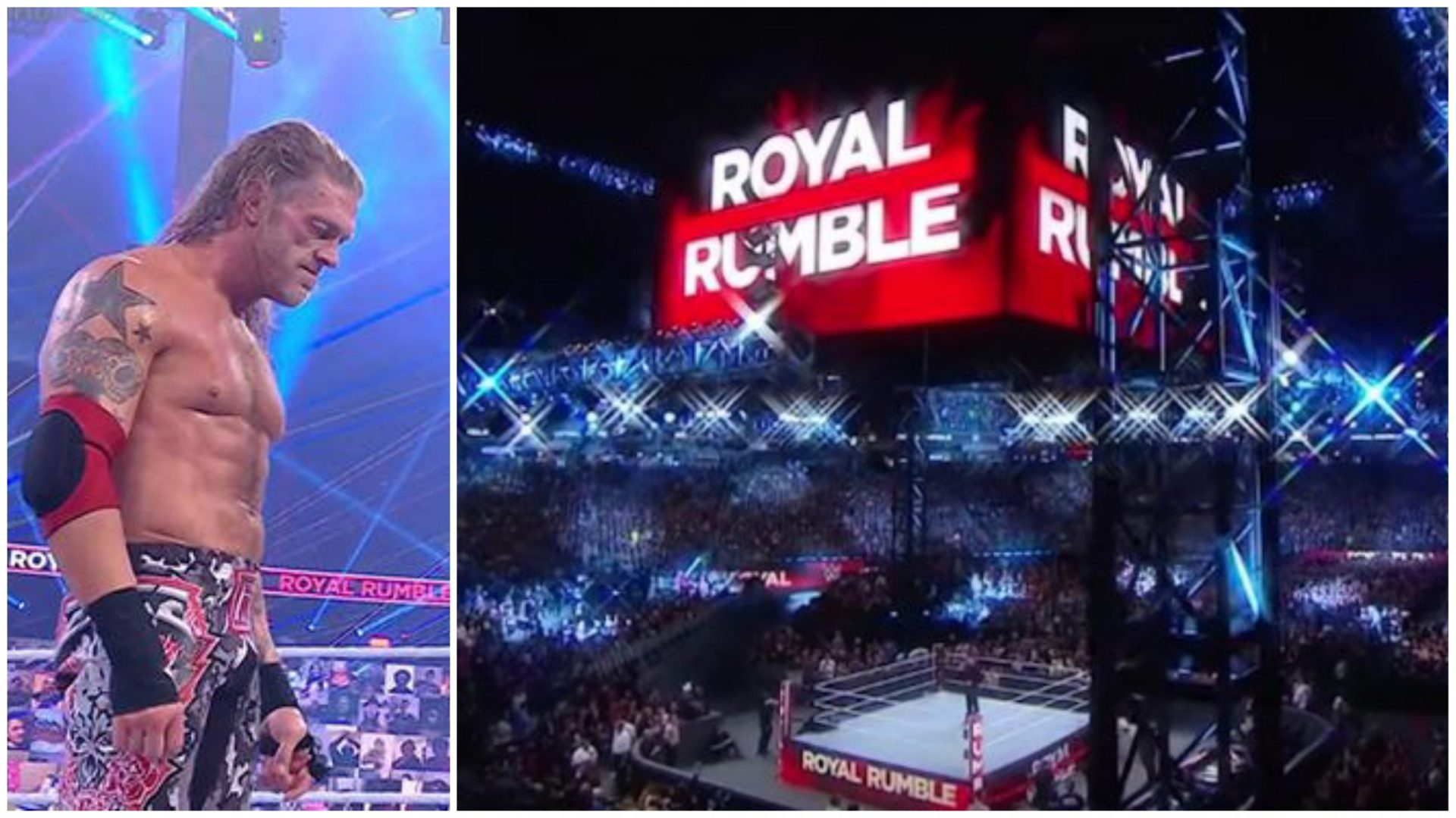 Edge wins Men's Royal Rumble 2021: order of entrants and elimination - THE SPORTS ROOM