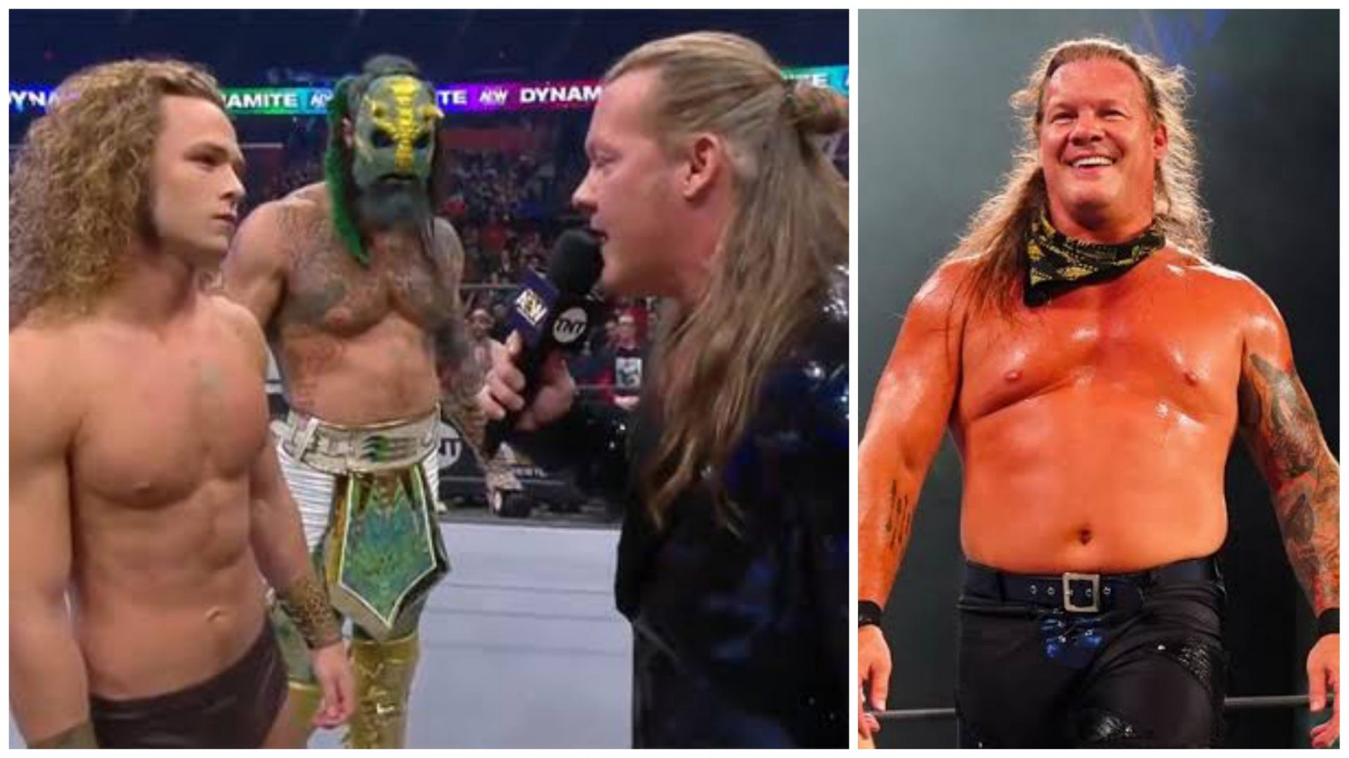 "Jungle Boy is Pro-Wrestling's ""next big thing,"" says Chris Jericho - THE SPORTS ROOM"