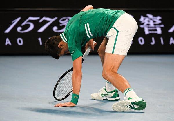 Novak's injury saga: Djokovic's title defense hopes in doubt at Australian Open 2021 - THE SPORTS ROOM