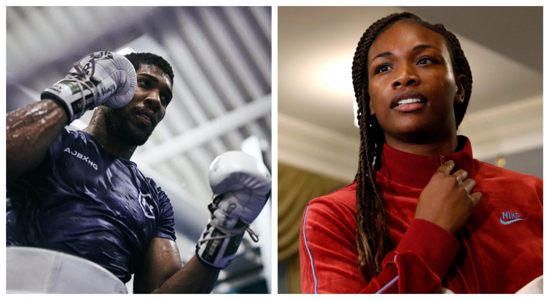 Claressa Shields believes Anthony Joshua has the edge over Tyson Fury - THE SPORTS ROOM