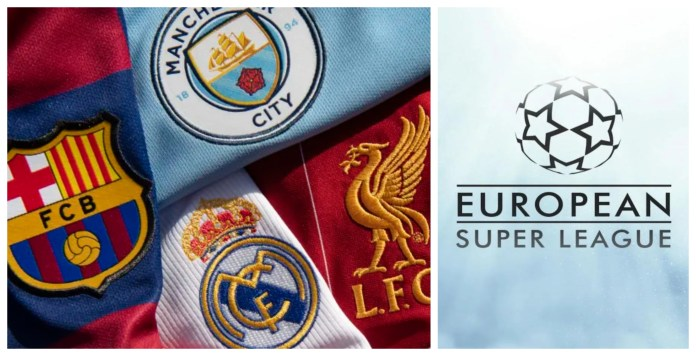 12 Clubs announce their participation in the brand new European Super League