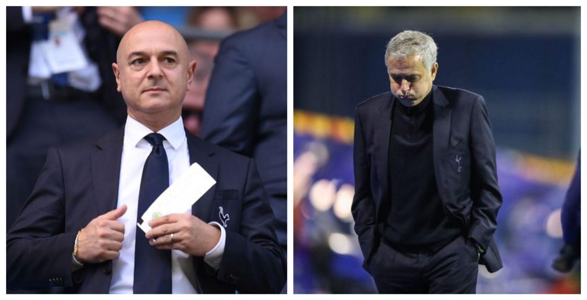 Jose Mourinho sacked by Tottenham Hotspur ahead of Carabao Cup Final - THE SPORTS ROOM