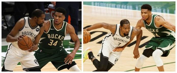 Giannis outshines Durant in Bucks-Nets showdown