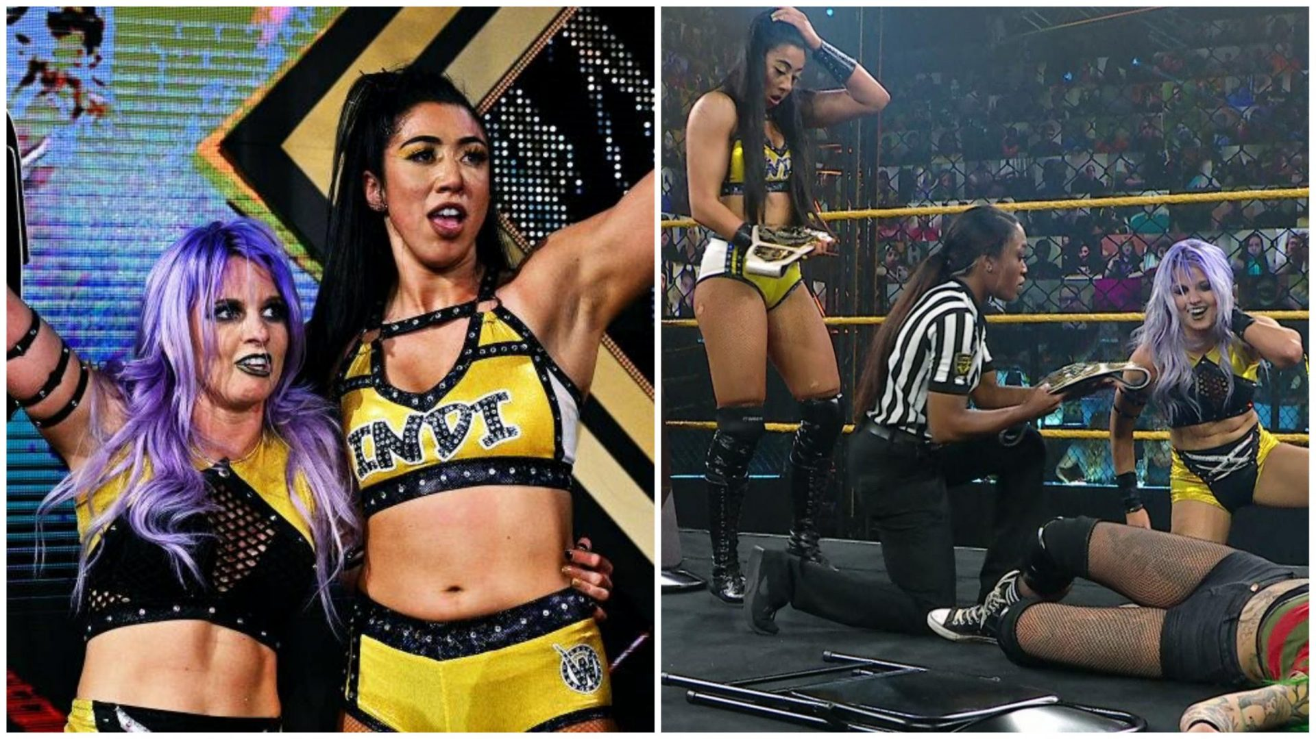 Candice LeRae and Indi Hartwell wins NXT Women's Tag Team Championships - THE SPORTS ROOM