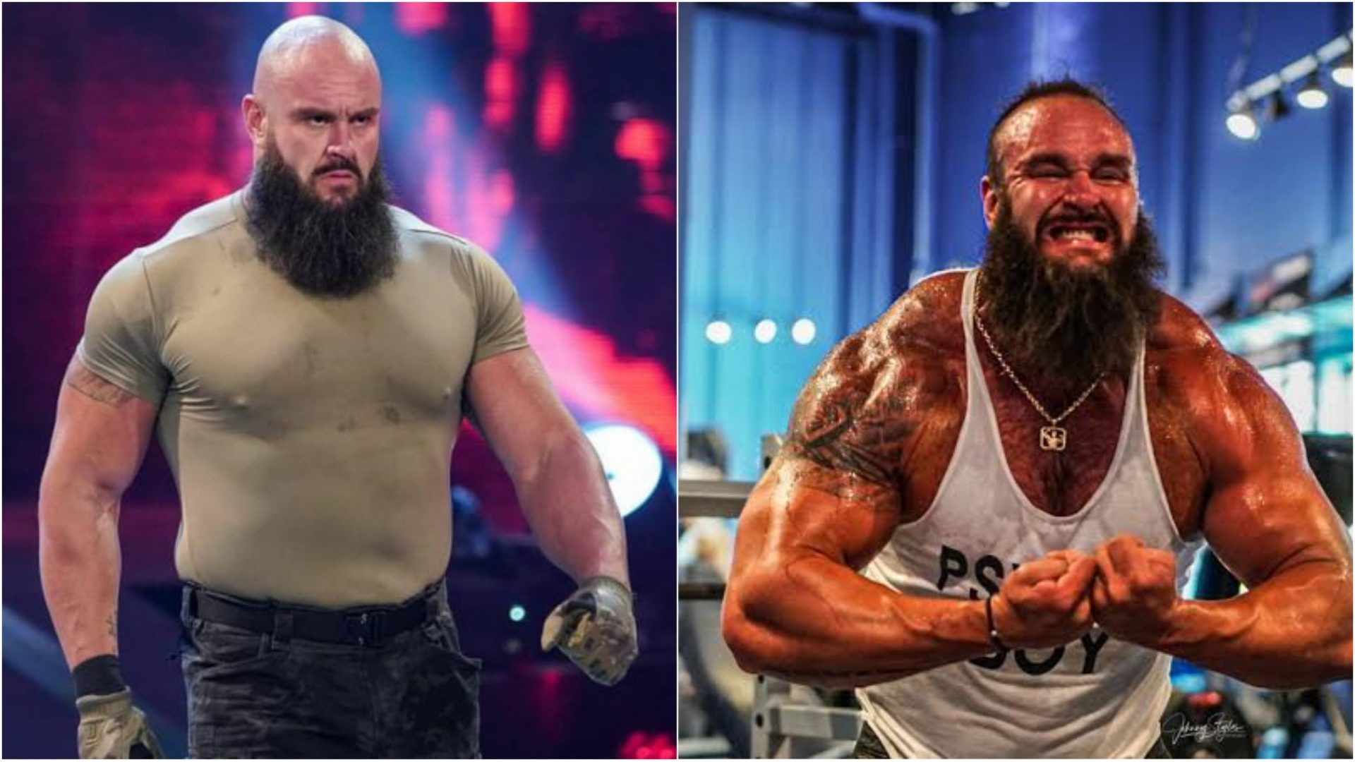 Braun Strowman on how 'body dysmorphia' affected his fitness - THE SPORTS ROOM