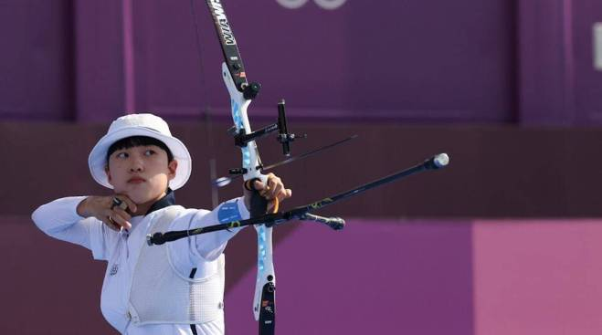 Korean Archer An San has invited criticisms from Anti-Feminists for her short hair - THE SPORTS ROOM