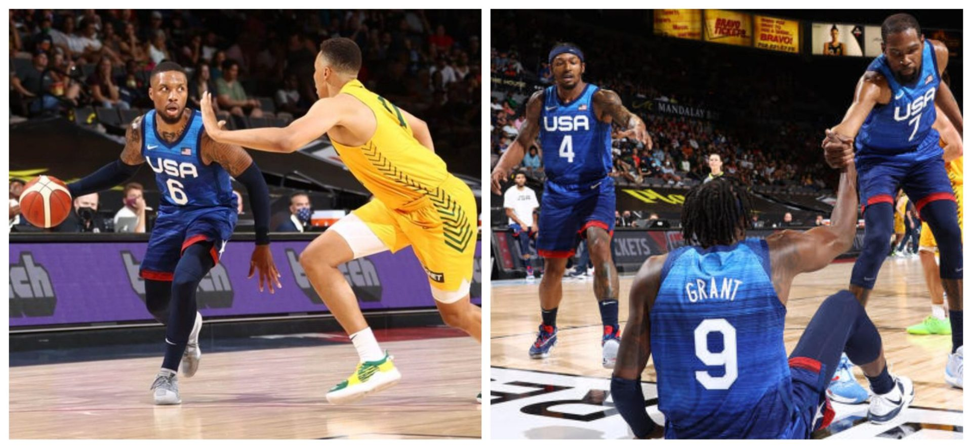 Team USA go 0-2 ahead of Olympics following another shock defeat against Australia - THE SPORTS ROOM