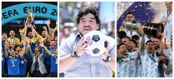 Euro vs Copa America match in works to honour Diego Maradona