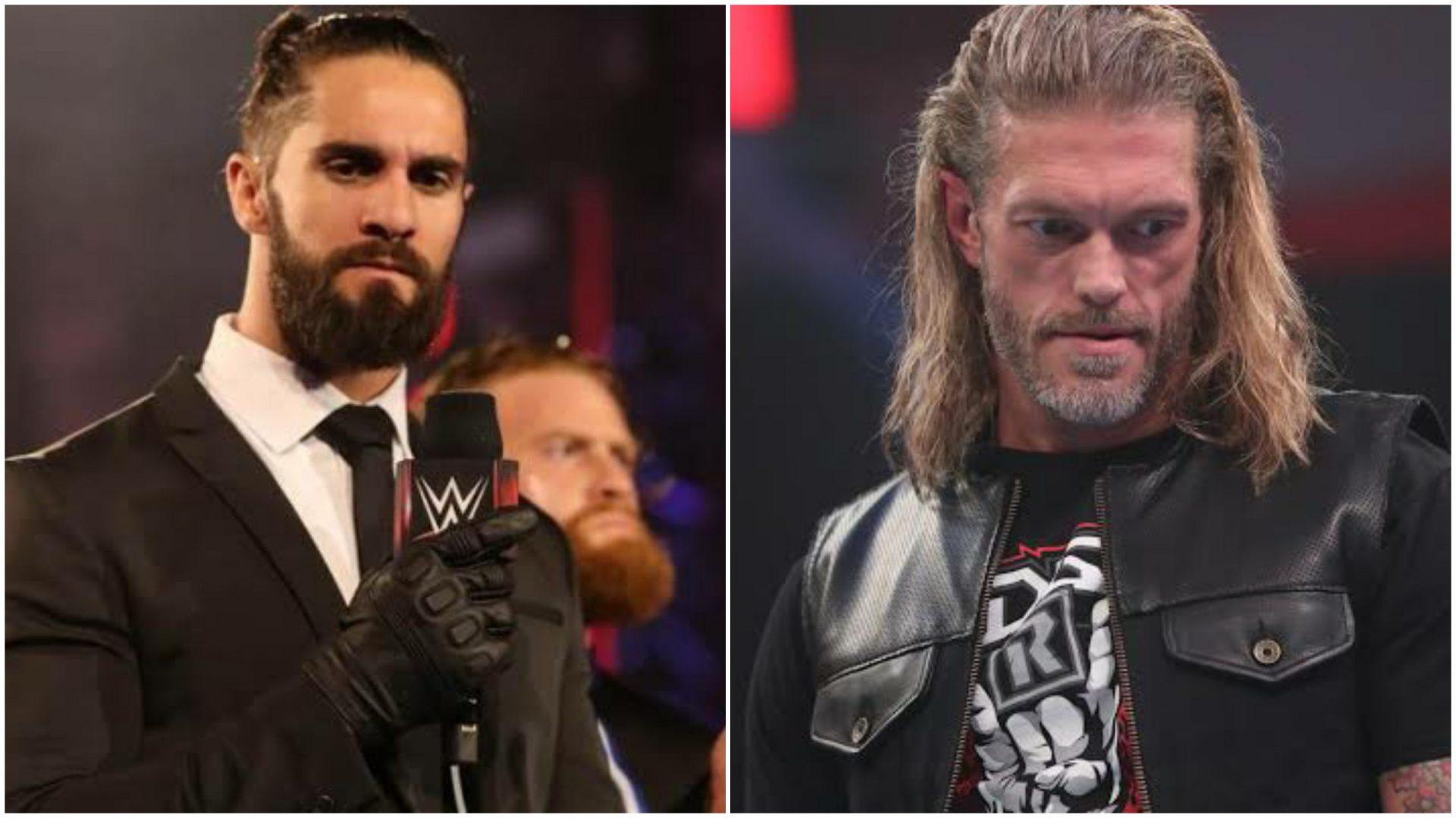 Edge mocks Seth Rollins at WWE Bump - THE SPORTS ROOM