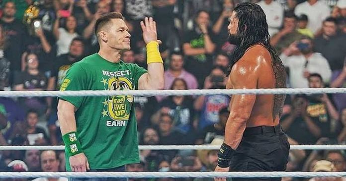 Roman Reigns breaks silence on the surprising return of John Cena at MITB 2021 - THE SPORTS ROOM
