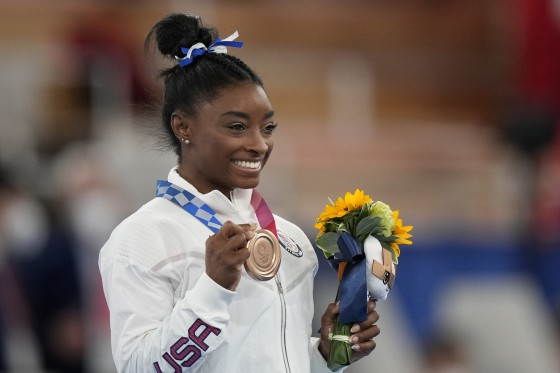 2021 Tokyo Olympics: American gymnast Simone Biles battles anxiety to seize bronze at the Games - THE SPORTS ROOM