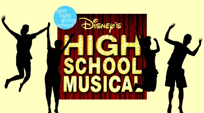 High School Musical Spotlight Logo