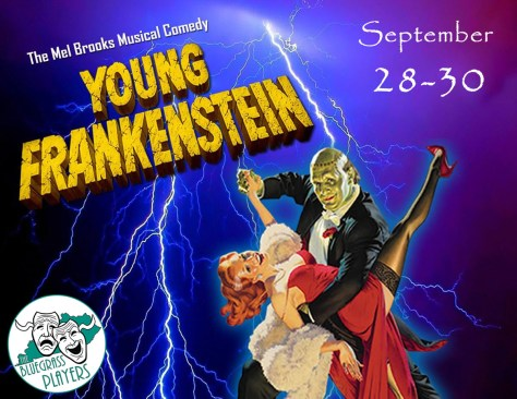 Young Frankenstein september 28-30