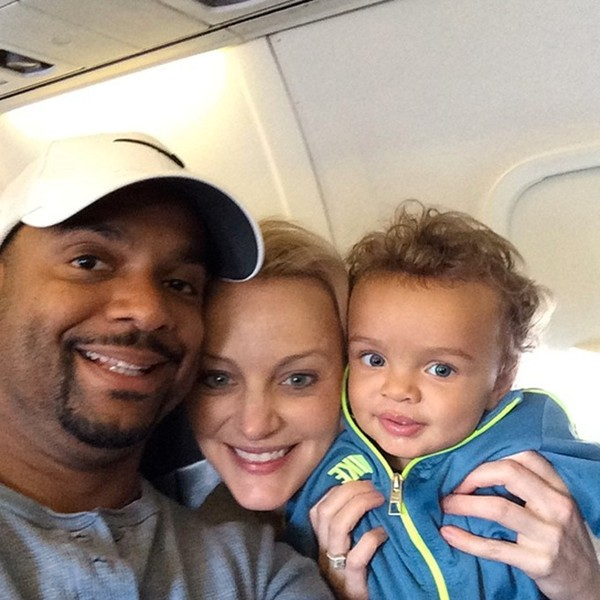 Alfonso Ribeiro baby boy april