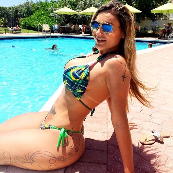 Brazilian Model Andressa Urach Bikini Picture