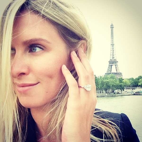 Nicky Hilton Engagement Ring Photo