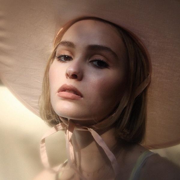 lily rose depp fashion shoot