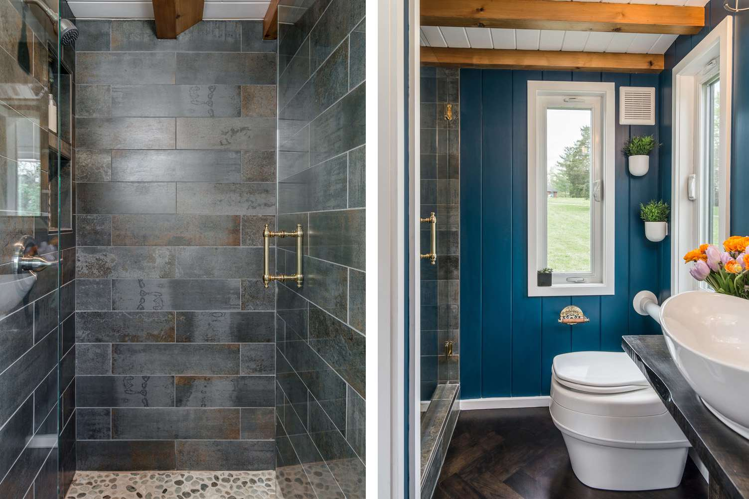33 Small Shower Ideas For Tiny Homes And Tiny Bathrooms