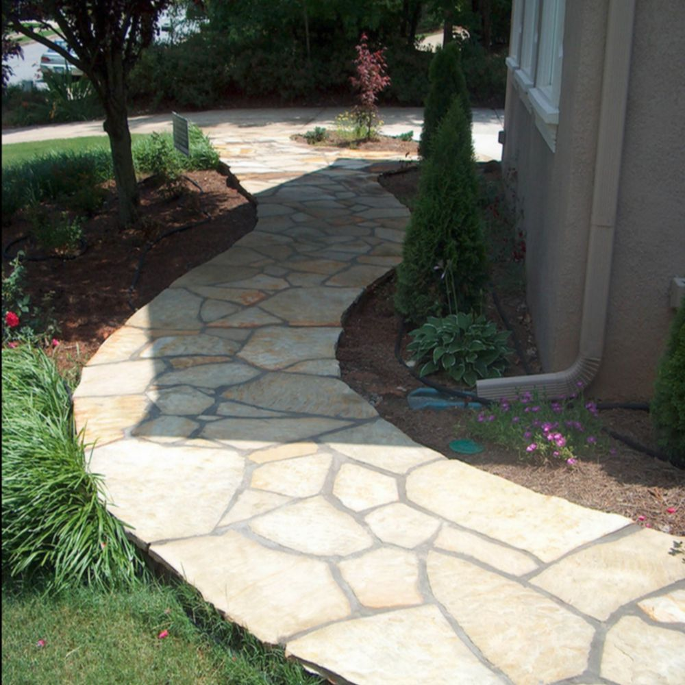 stone walkway ideas