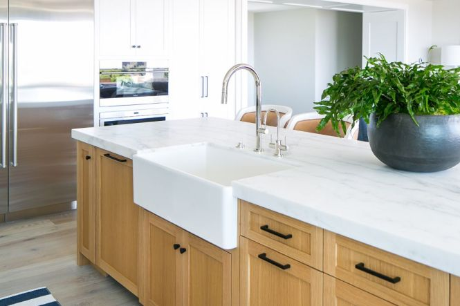 16 Beautiful Marble Kitchen Countertops