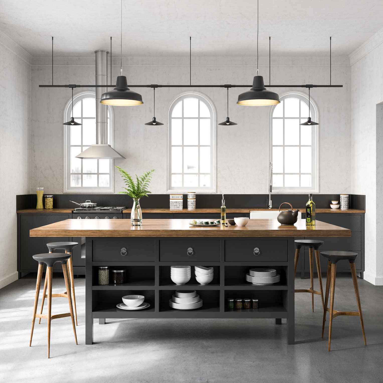 kitchen ceiling lighting for general