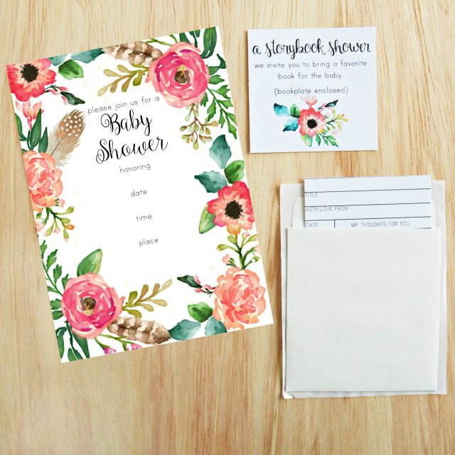 16 Sets Of Free Baby Shower Invitations