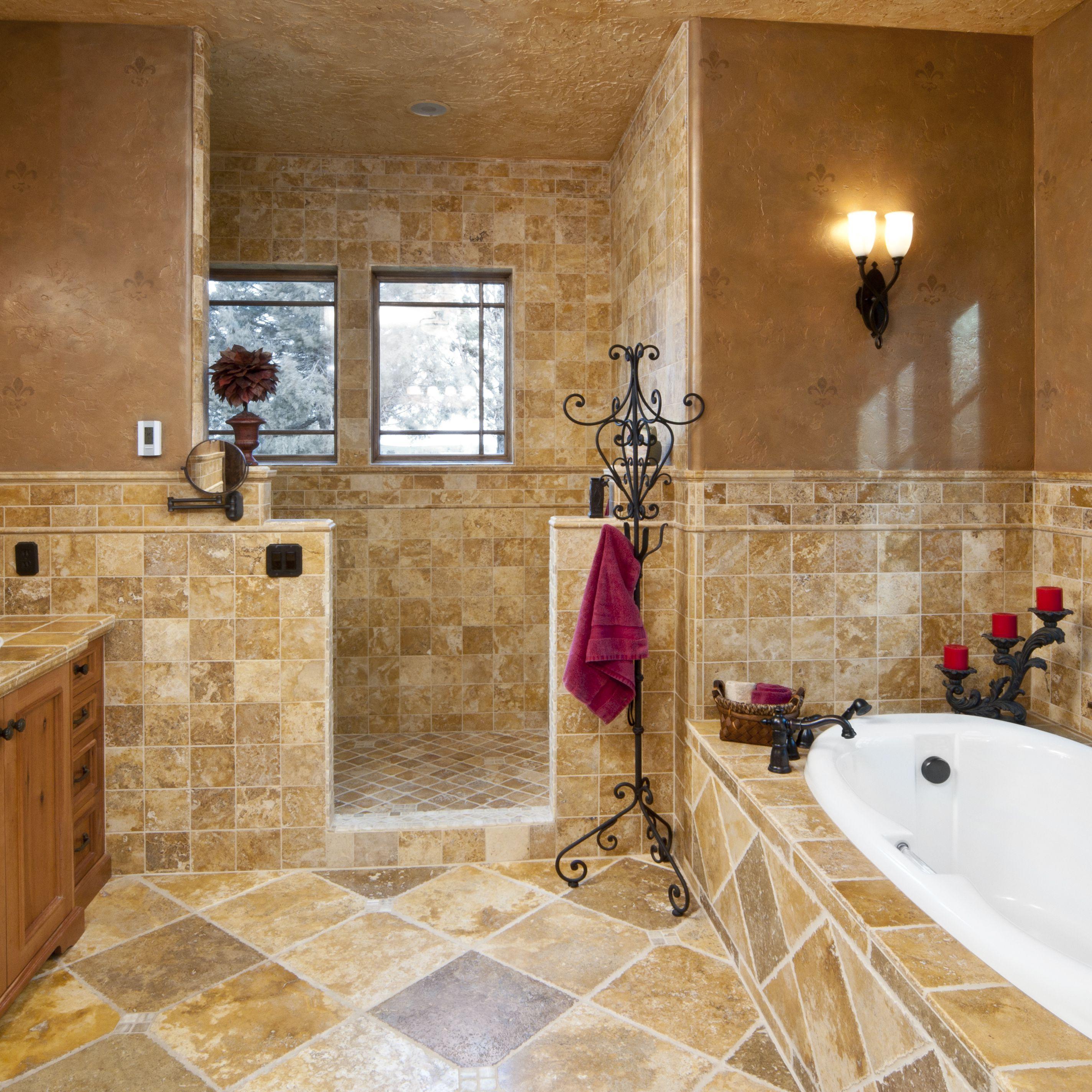 10 ideas for bathtub surrounds
