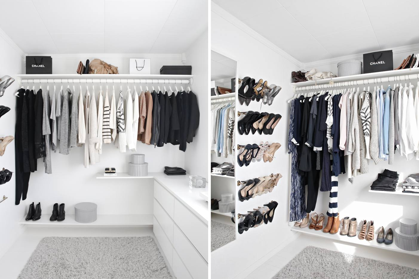 21 Best Small Walk In Closet Storage Ideas For Bedrooms