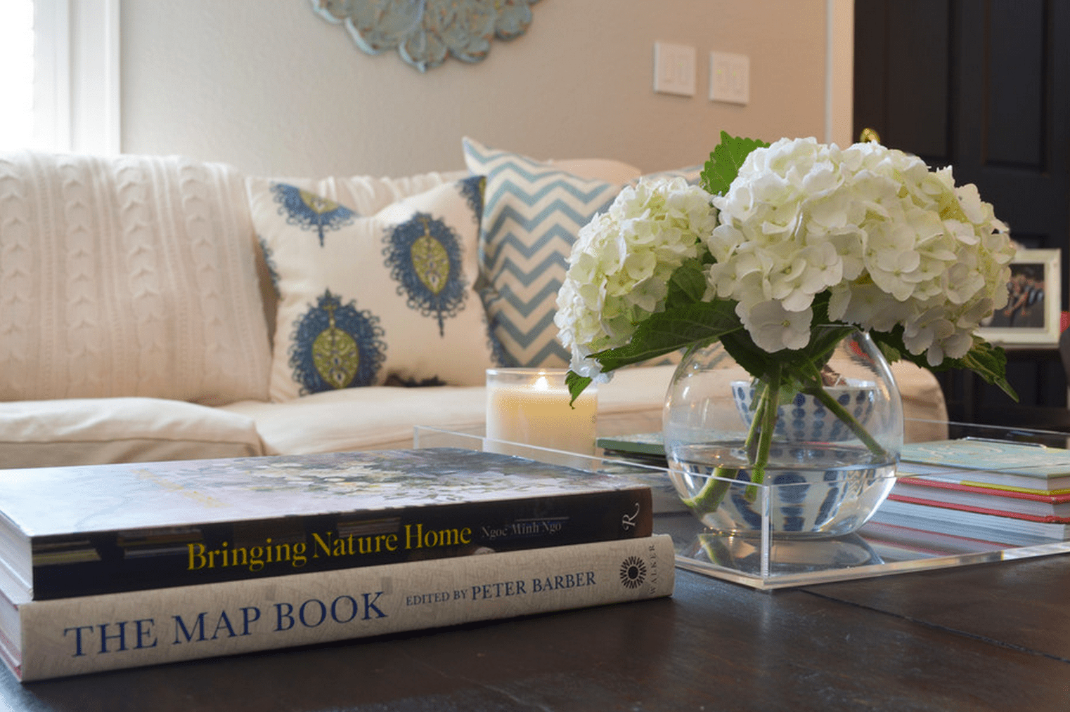 ways to decorate and style a coffee table