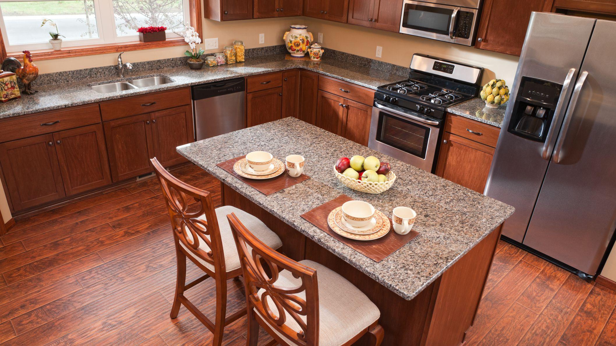 laminate flooring in the kitchen