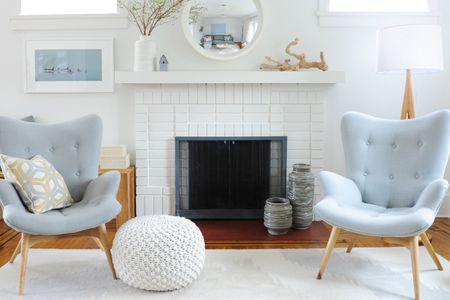 32 Ways To Refresh A Brick Fireplace