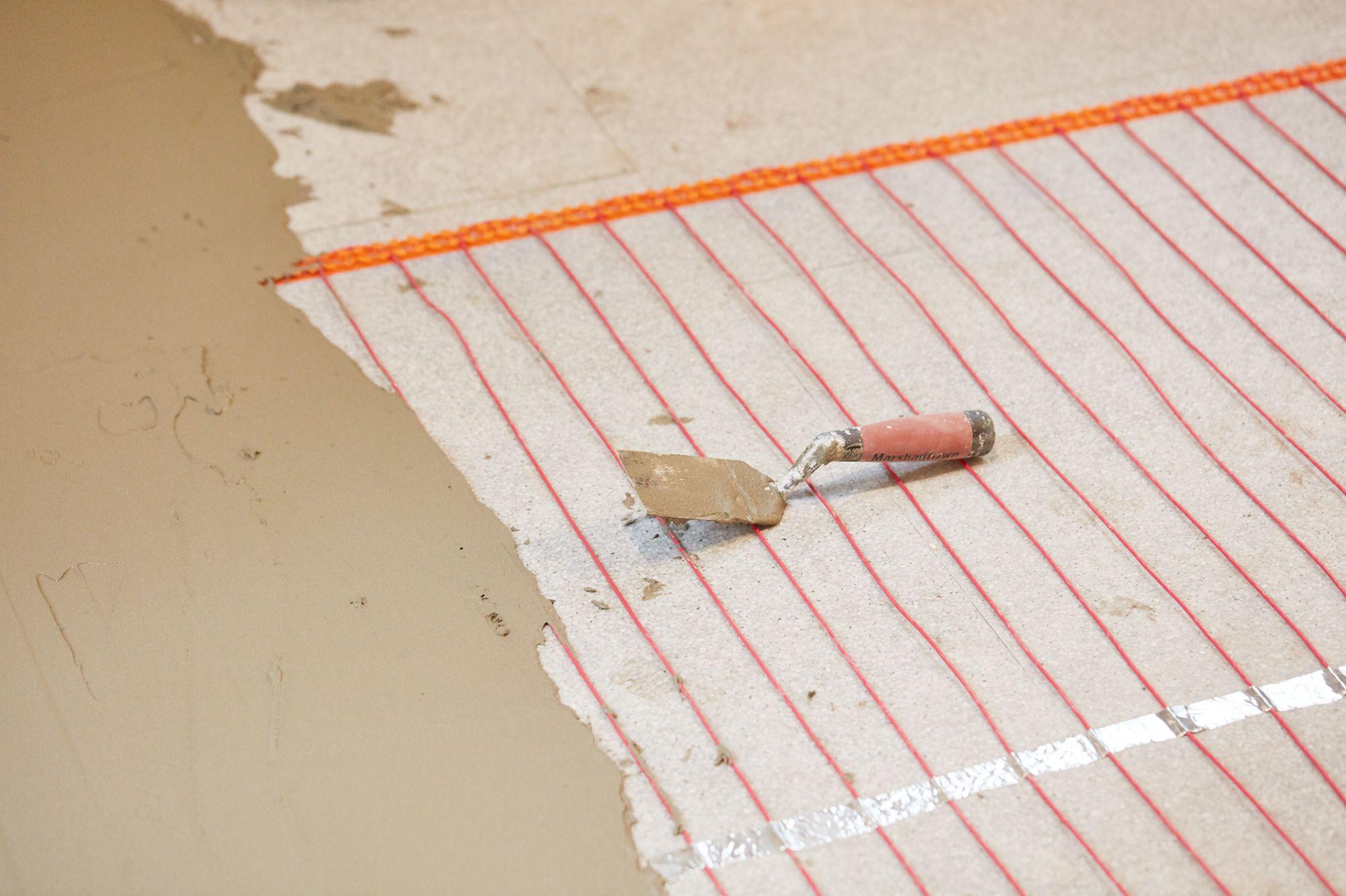 electric radiant floor heating the basics