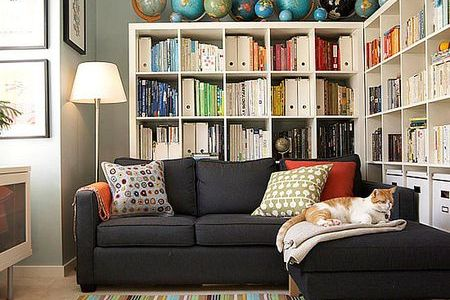 15 Minute Clutter Sweeps for Every Room in Your Home How to Declutter the Living Room in 15 Minutes a Week  Small home storage  via Furniture Design Ideaz