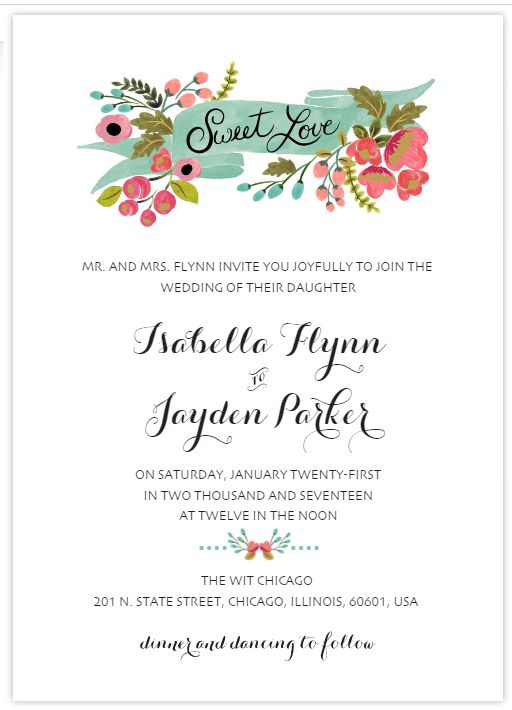 Wedding Invitation Template Word Tosya Magdalene Project Org