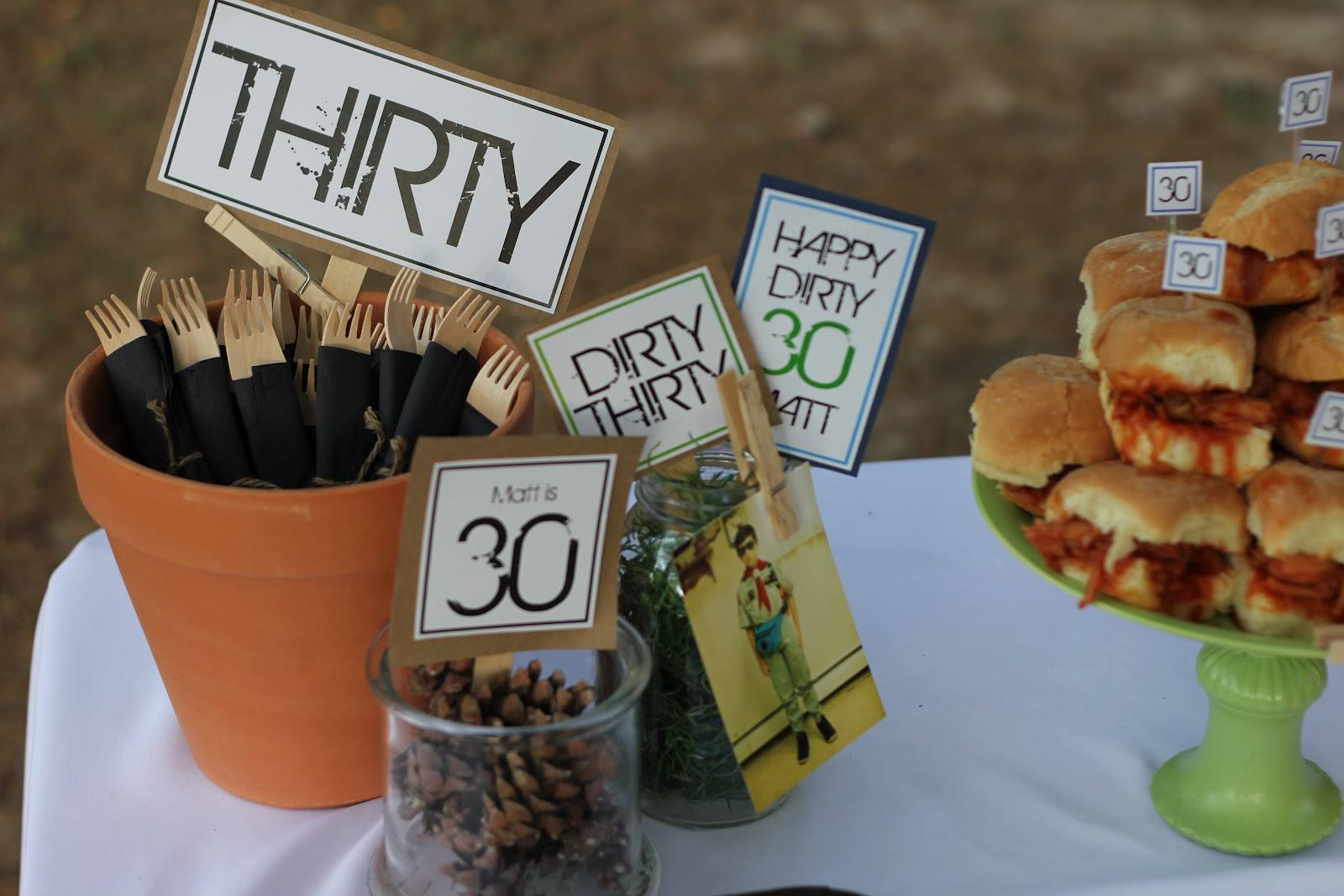 15 Great Party Ideas For Your 30th Birthday