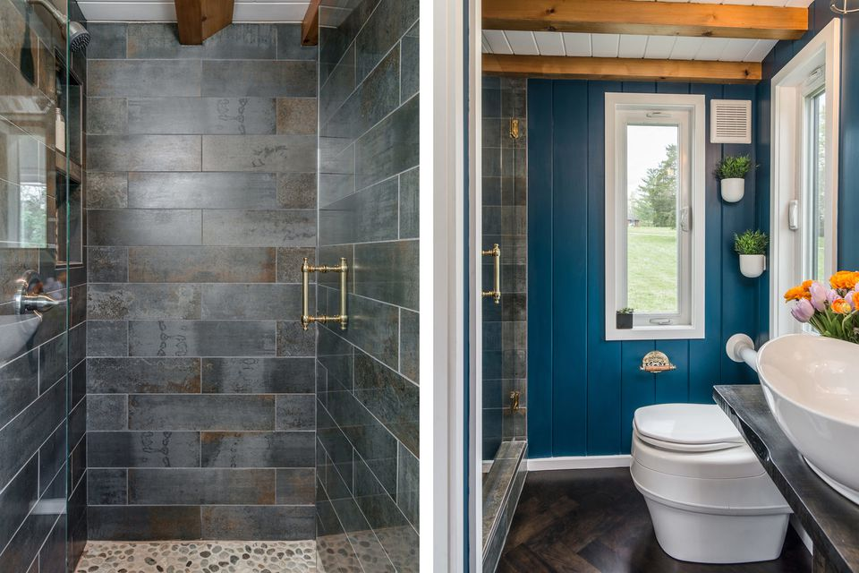 33 Small Shower Ideas For Tiny Homes And Teensy Bathrooms In 2020