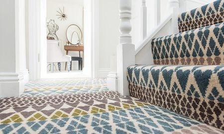 13 Best Carpet Trends For 2020 | Best Carpet For Basement Stairs | Patterned Carpet | Bob Vila | Carpet Runners | Staircase Runner | Hallway