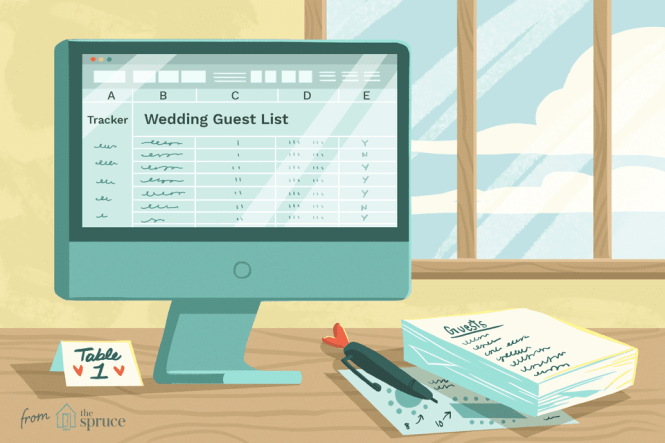 7 Free Wedding Guest List Templateanagers