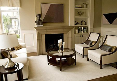 Decorate Any Room in the Transitional Style This transitional style living room perfectly pairs the beauty and  classical feeling of traditional with the neutral colors and bold lines of  contemporary