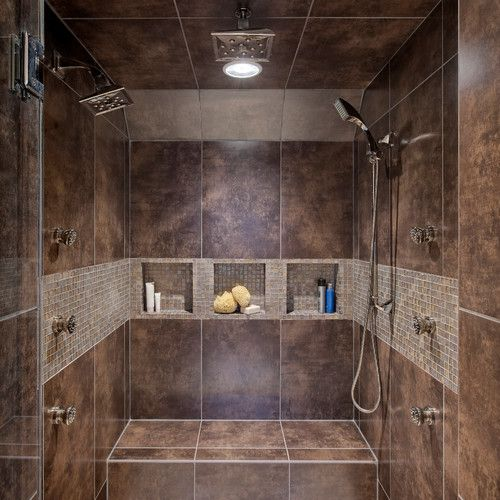 bathrooms with double showers