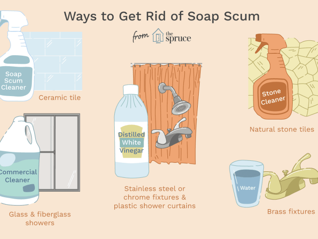 How to Clean Soap Scum off Every Bathroom Surface