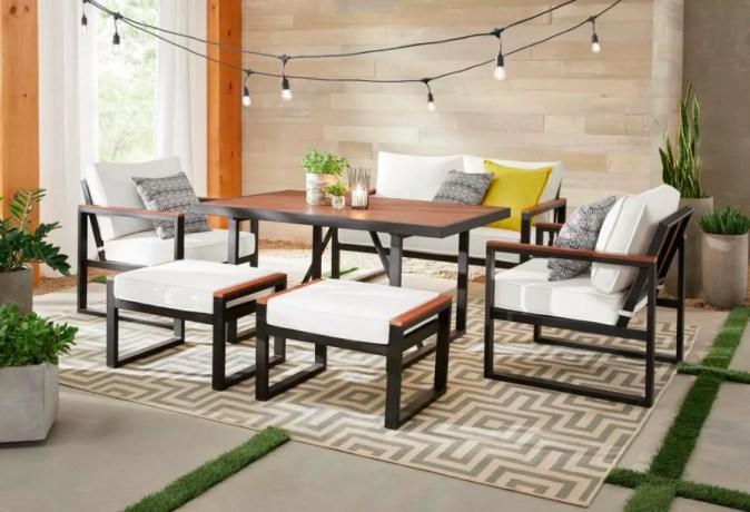 Hampton Bay West Park Outdoor  Patio Dining Sets
