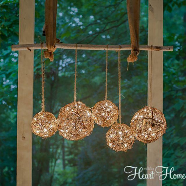 18 diy outdoor decor decorating ideas