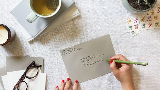 Correct Way to Address an Envelope