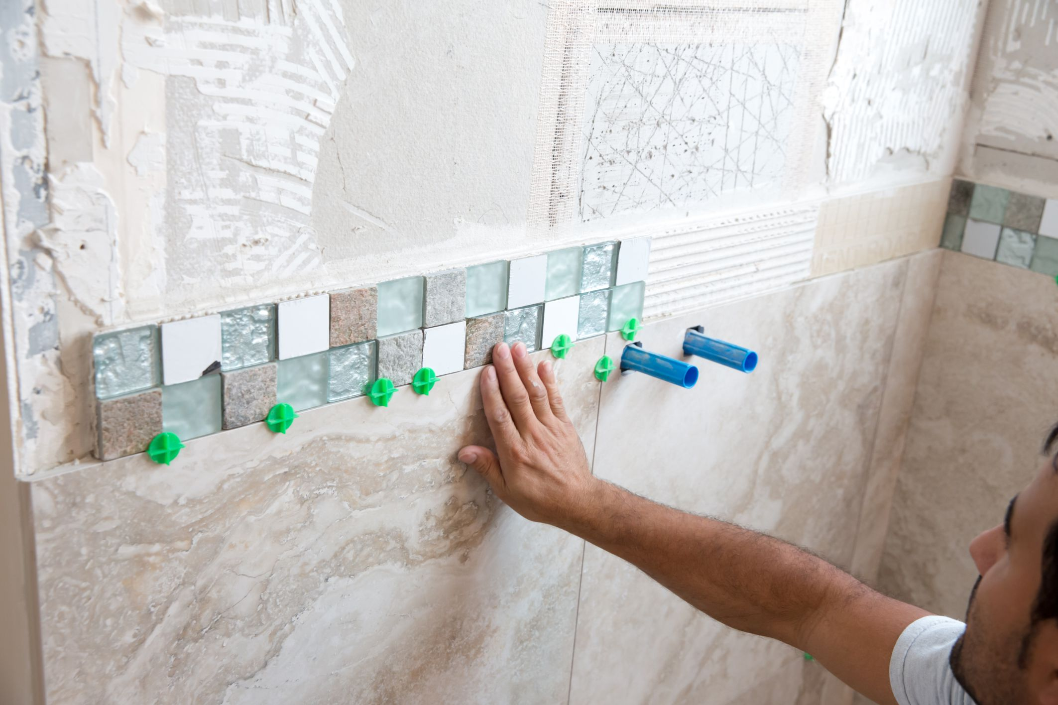 How To Convert An Acrylic Or Fiberglass Shower To Tile