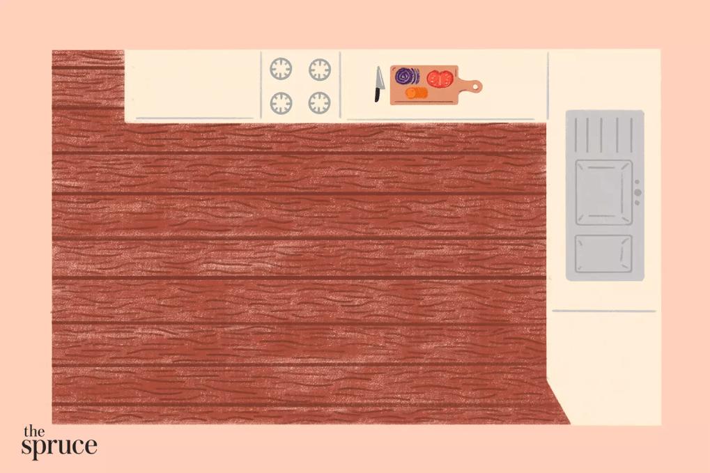 nhà bếp cỡ căn hộ