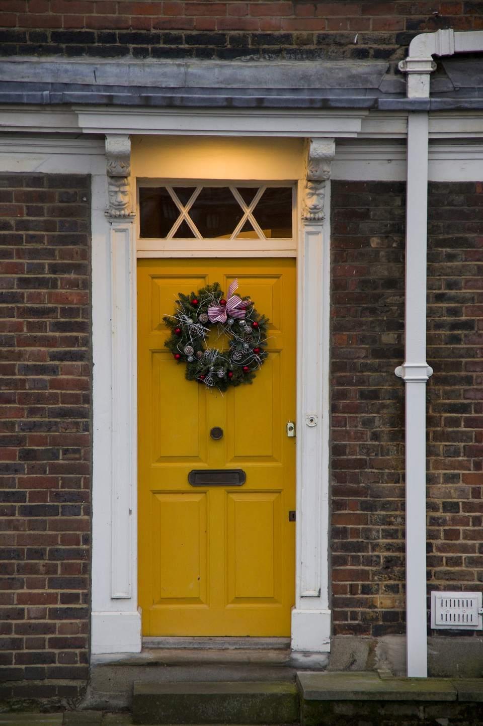 8 Eye Catching Yellow Front Doors